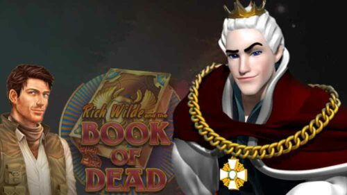 Claim 100 Free Spins on Book of Dead at King Billy