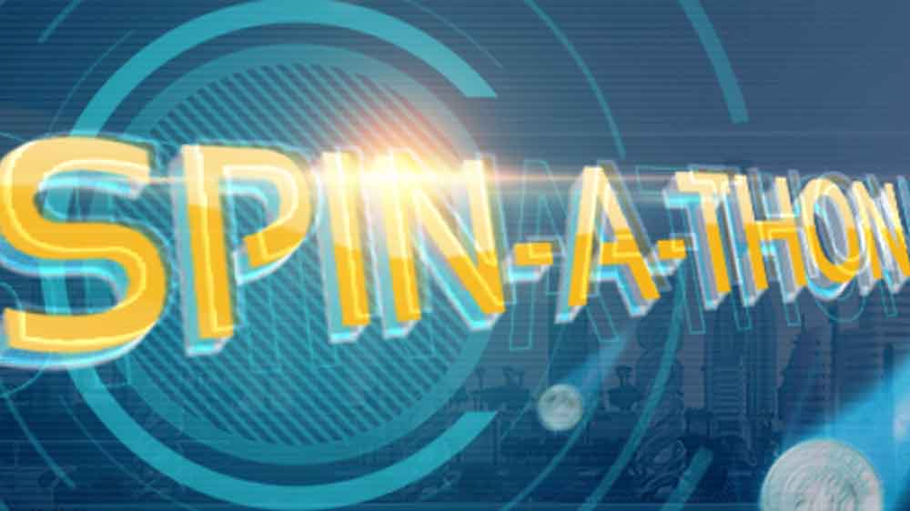 Spin-a-thon Weekend Promotion at Spintropolis