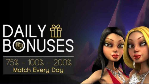 Make Use of the Daily Bonus at Vegas Crest Casino
