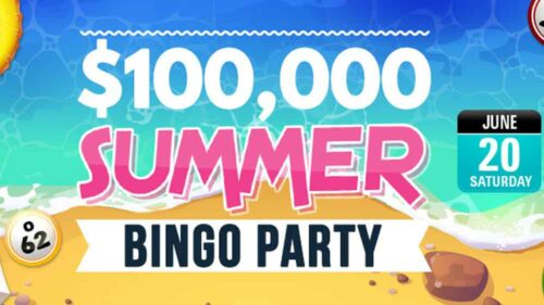 $100.000 Summer Party at CyberBingo