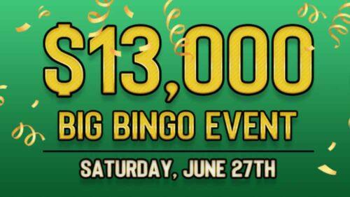 Play the $13.000 Big Bingo Event at BingoSpirit