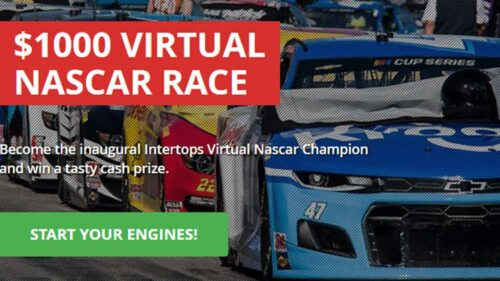 Check Out the $1000 Intertops Virtual NASCAR Race for June