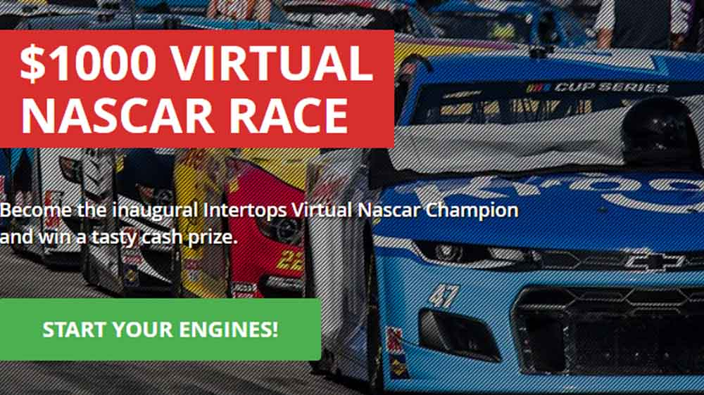 Intertops Virtual NASCAR Race