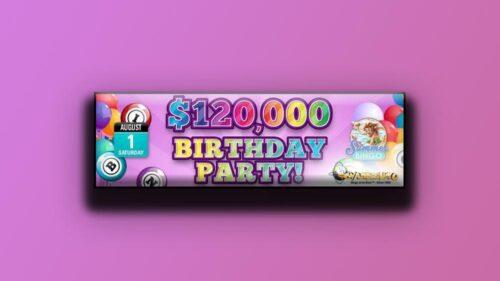 Win Cash With CyberBingo On Its Birthday